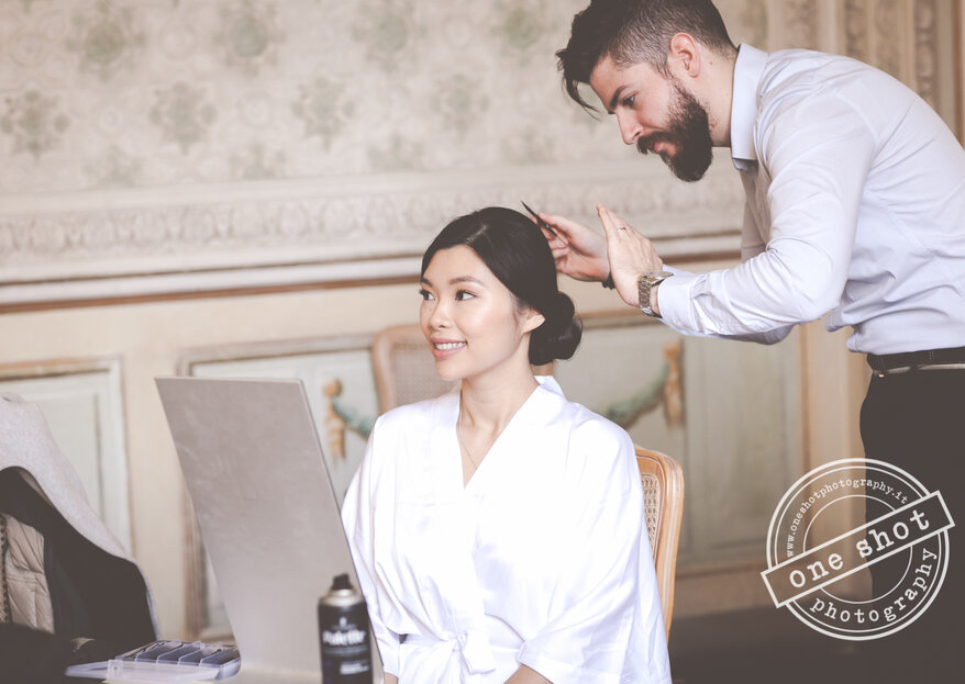 I love my hair dresser: a special home service for your wedding hair & make-up