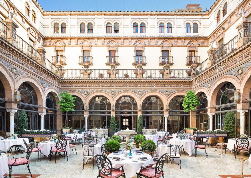 Celebrate your Wedding Spanish Style: Hotel Alfonso XIII