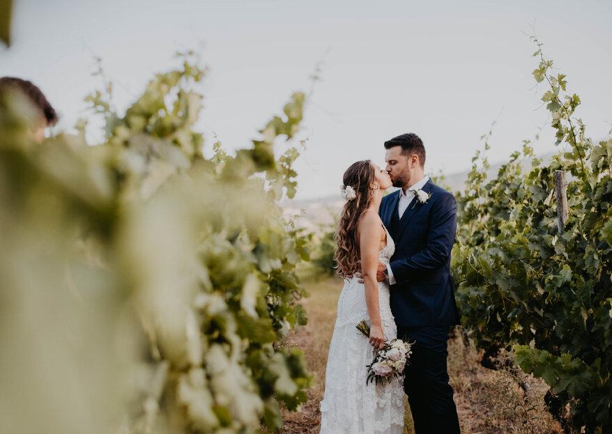 Larissa and Henrique's Beautiful Wedding in the Douro Wine Region