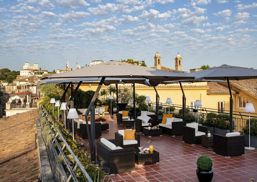 For A High Class Wedding In The Heart Of Rome, Look No Further Than Residenza Di Ripetta