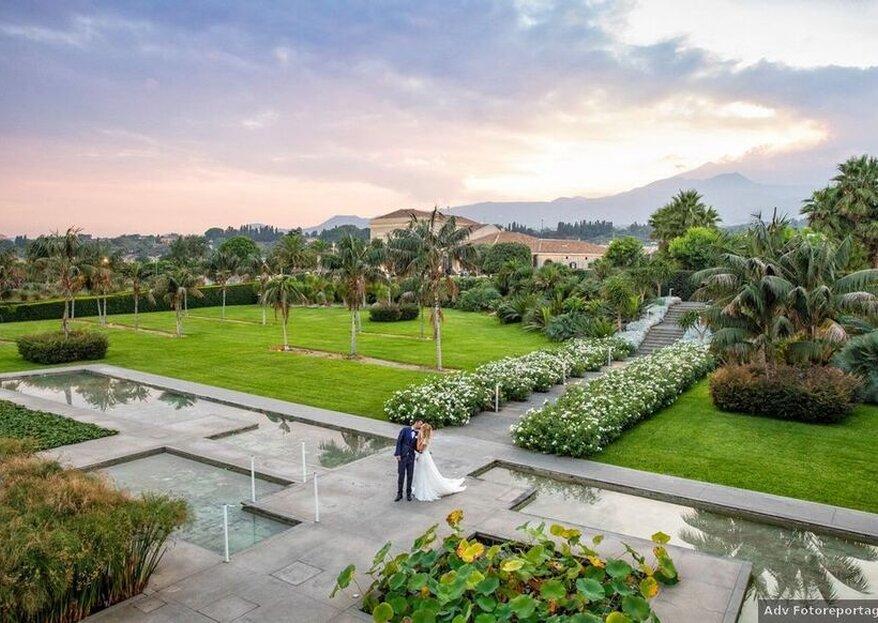 Radicepura: celebrate your wedding within the heart of a wonderful botanical park!
