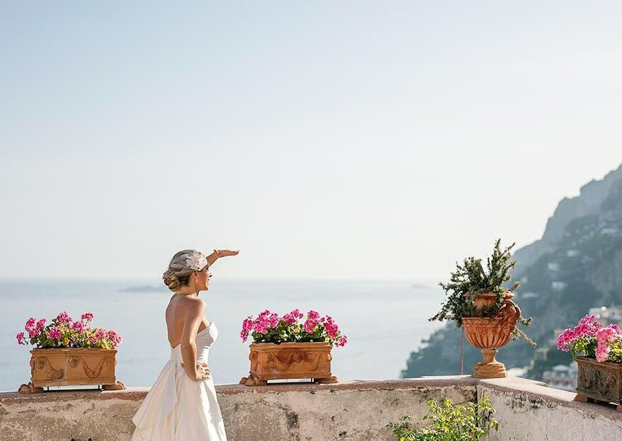 Med in Style: a stylish wedding with a romantic Mediterranean environment