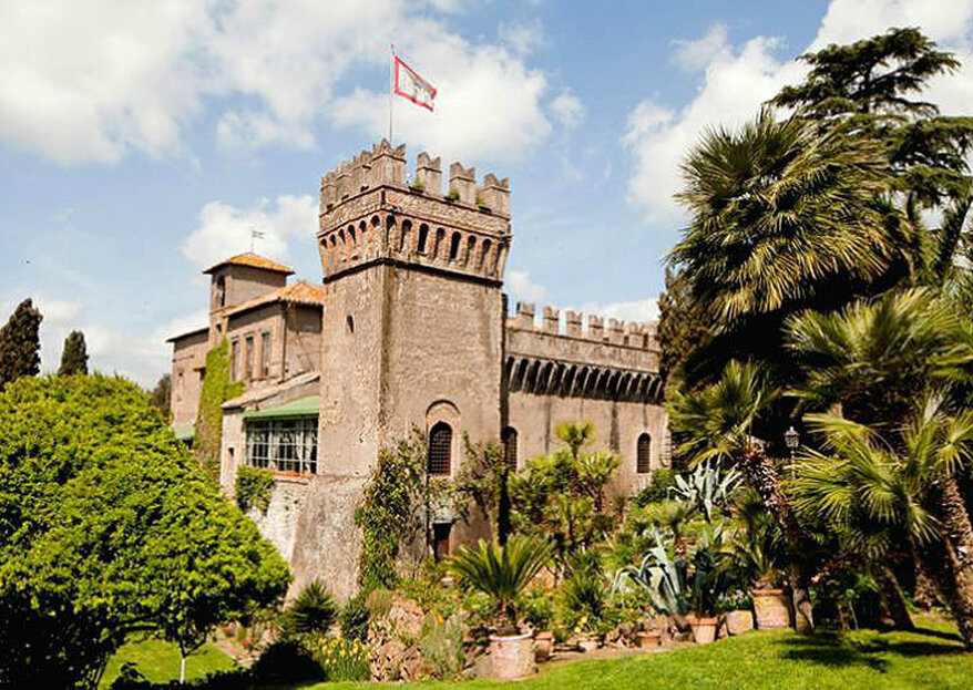 Castello di Torcrescenza is the ideal fairytale setting for an old-time wedding!