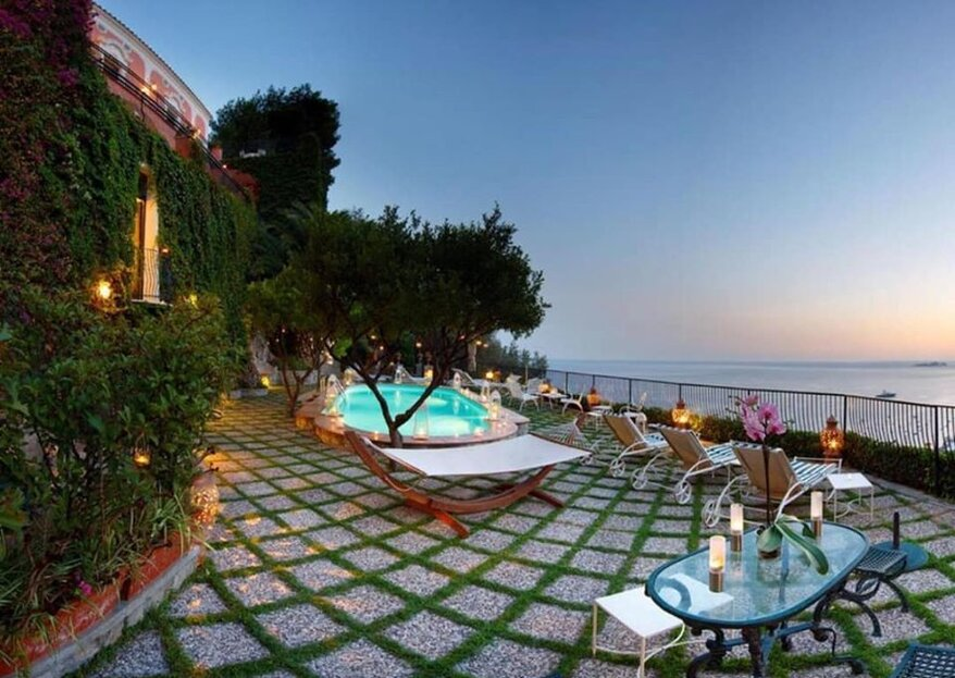 Villa dei Fisici: history, luxury and scenery for your wedding in Positano