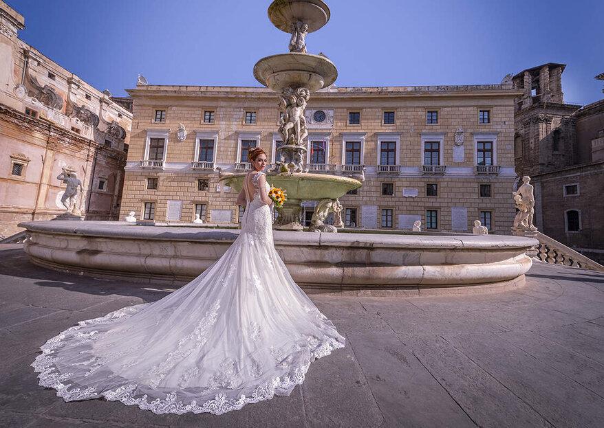 Modart di Flavia Pinello dresses your dream with tulle, organza, and lots of creativity!