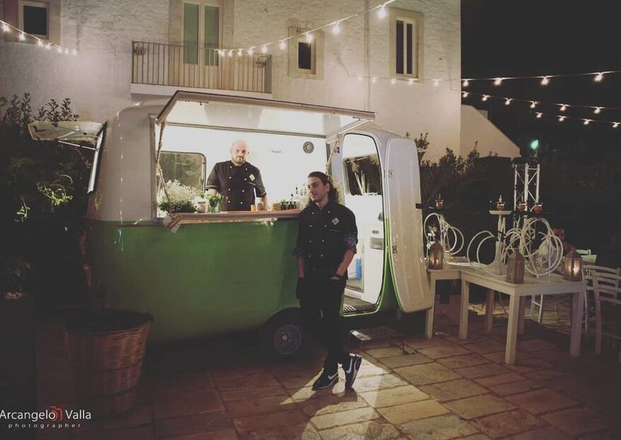 Kokopelli Bar Catering: a travelling service that takes the fun wherever you want for your wedding!