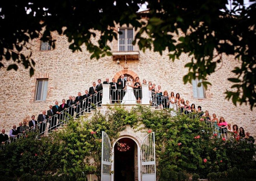 Castello di Montignano: the perfect wedding in Umbria!