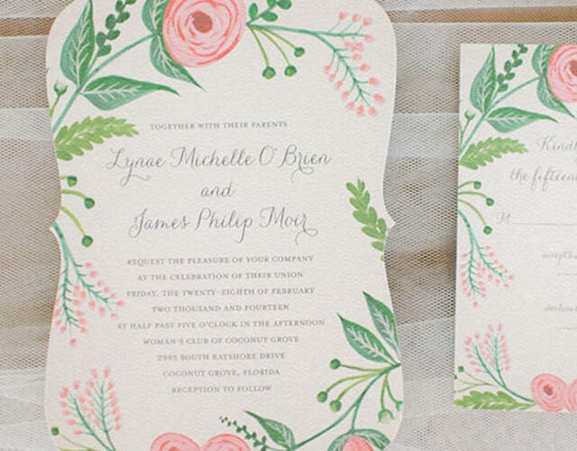 Wedding Invitations & Stationery in Greater London